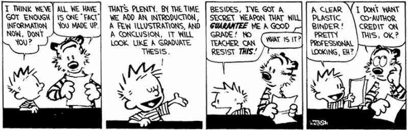 Meme Of The Week 11 Calvin And Hobbes The Write Attitude